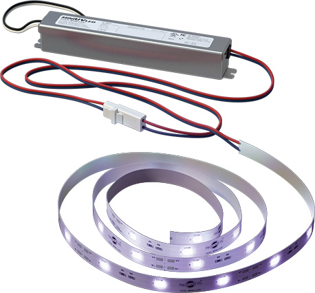 UV Light LED System for Mini-Splits designed to sterilize surfaces.