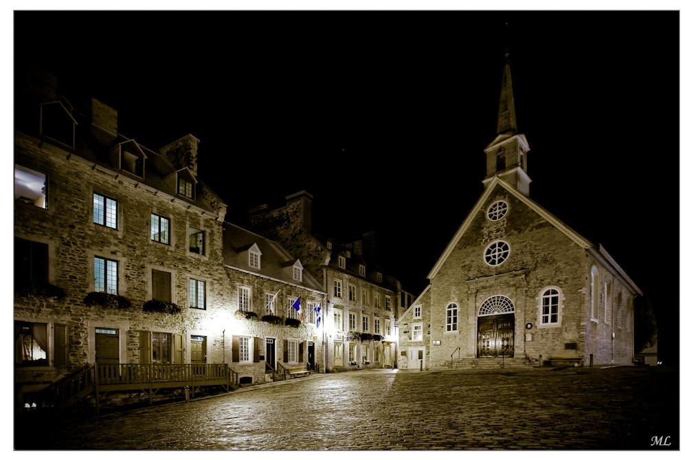 Place Royale Québec - 2009