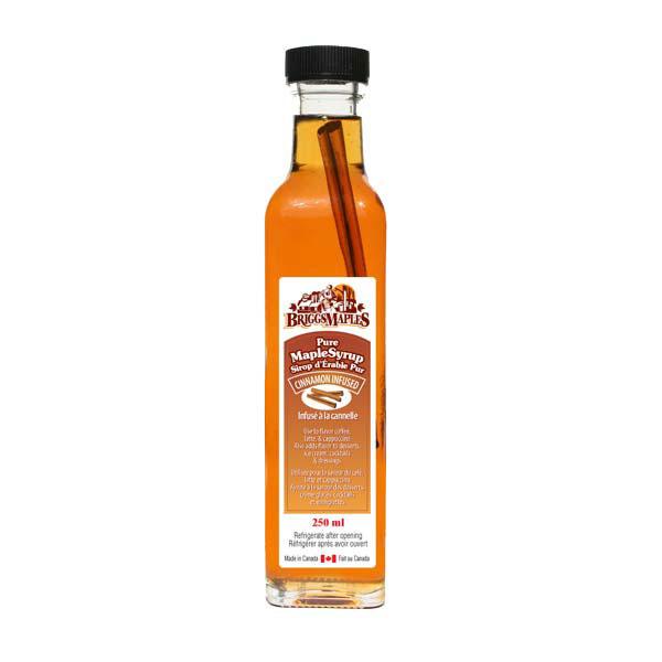 Cinnamon Infused Maple Syrup