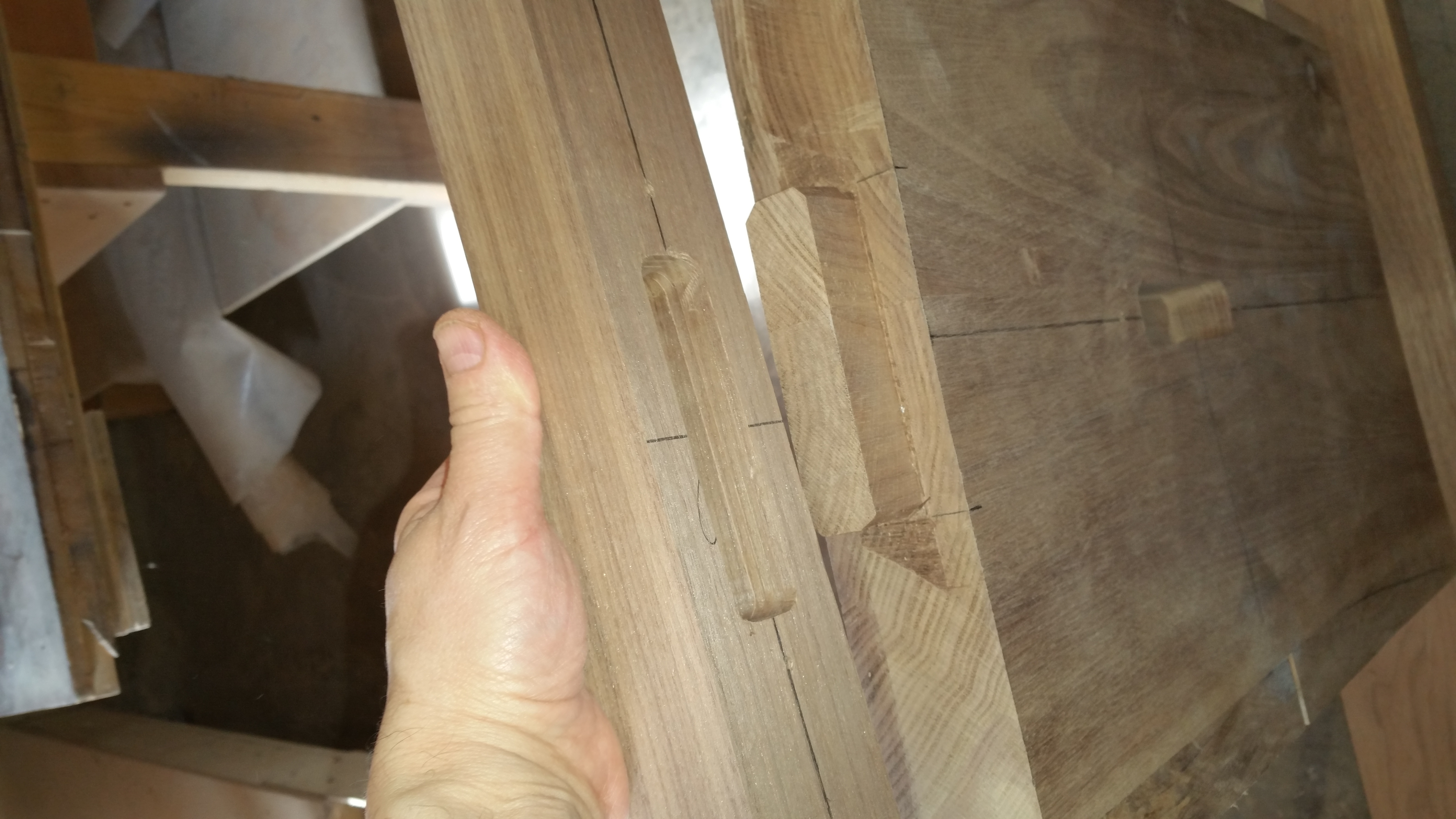 Fitting Mortises and Tenons