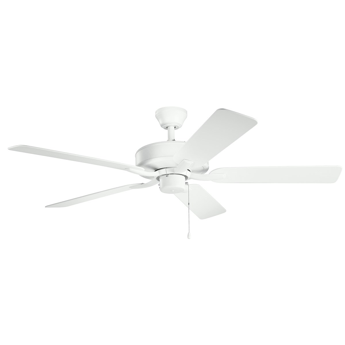 """525 330015 MWH 52"""" damp rated fan in matte white Regular Price $279.99 Sale Price $251.99"""