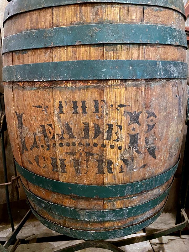 Press for Making Apple Cider.