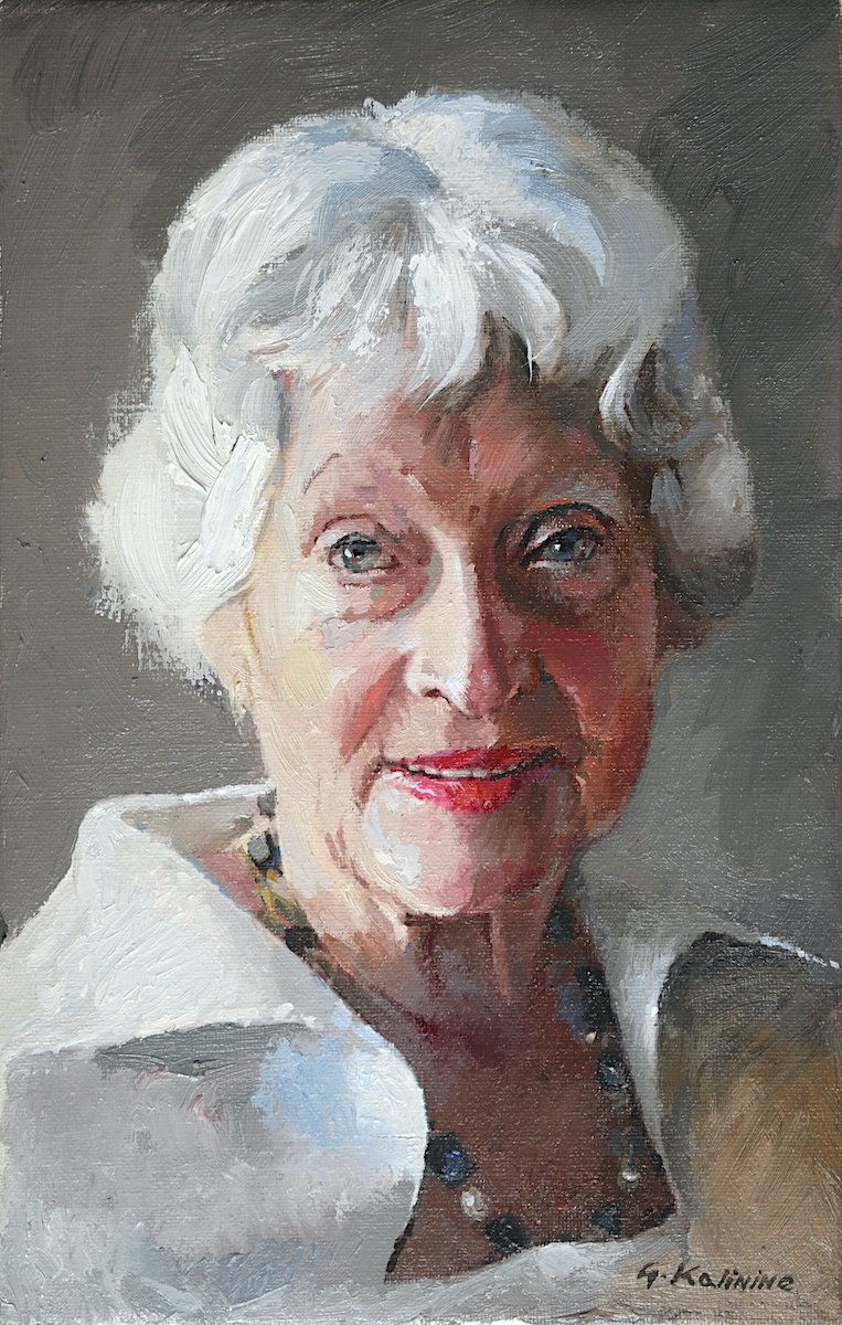 Doris. Oil. Canvas.