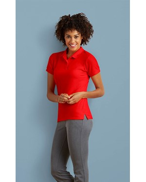 Ladies Dryblend Double Pique Sport Shirt