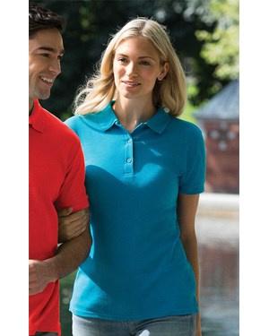 Ladies Premium Cotton Double Pique Sport Shirt