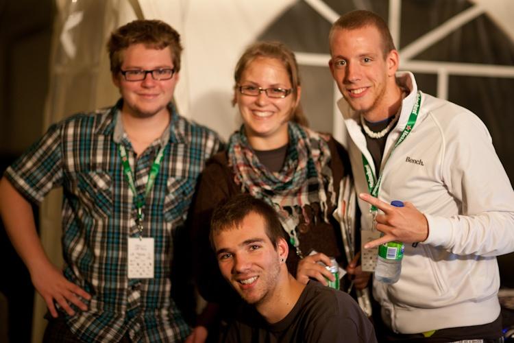 Les participants au  début de la  compétition.  4 août 2011 1x2884