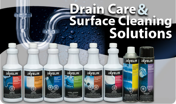 JAVELIN Drain Care/Surface Cleaning