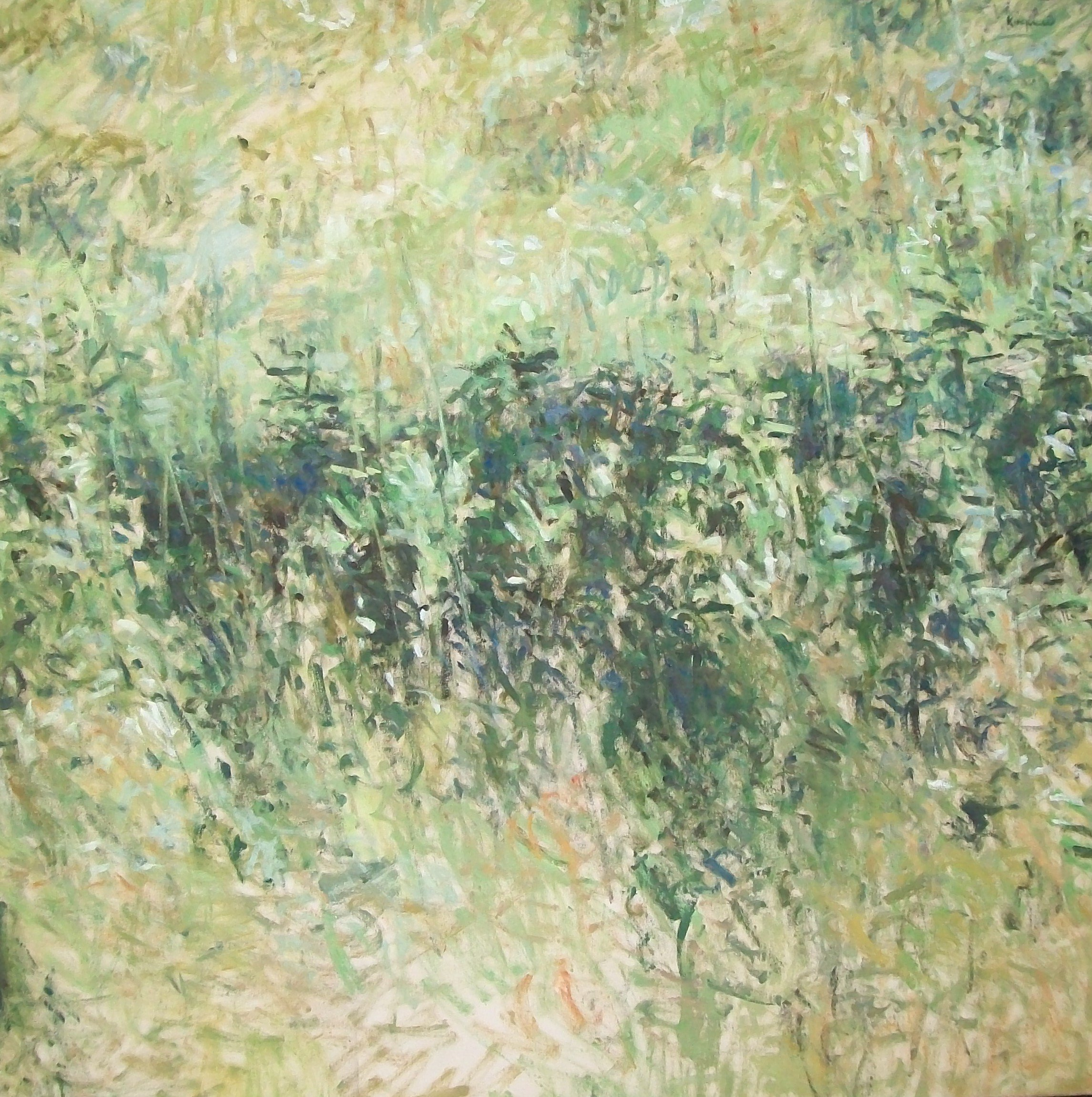 Summer Landscape, 2001, oil on canvas