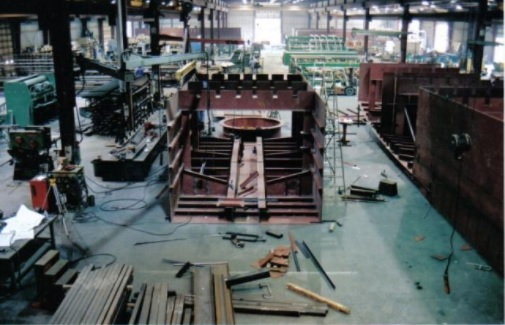 Fabrication shop in Prince George, BC.