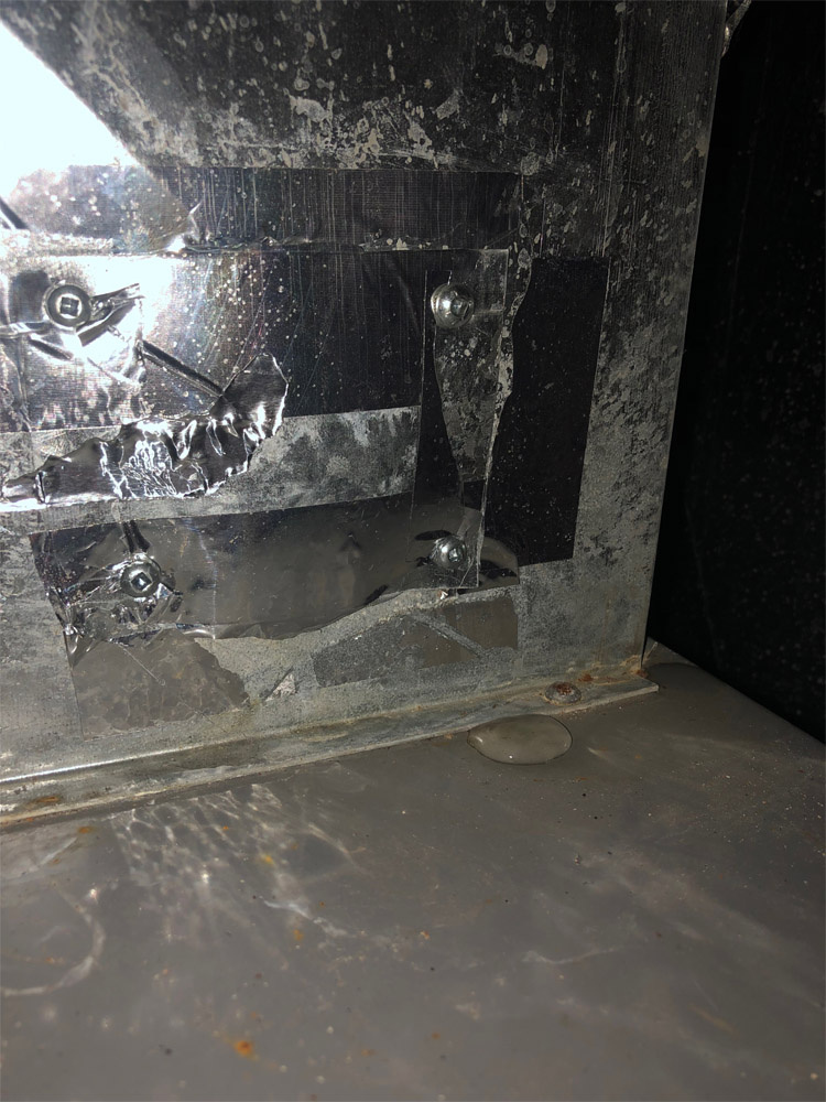 If you see a puddle on your furnace area, you need your furnace cleaned