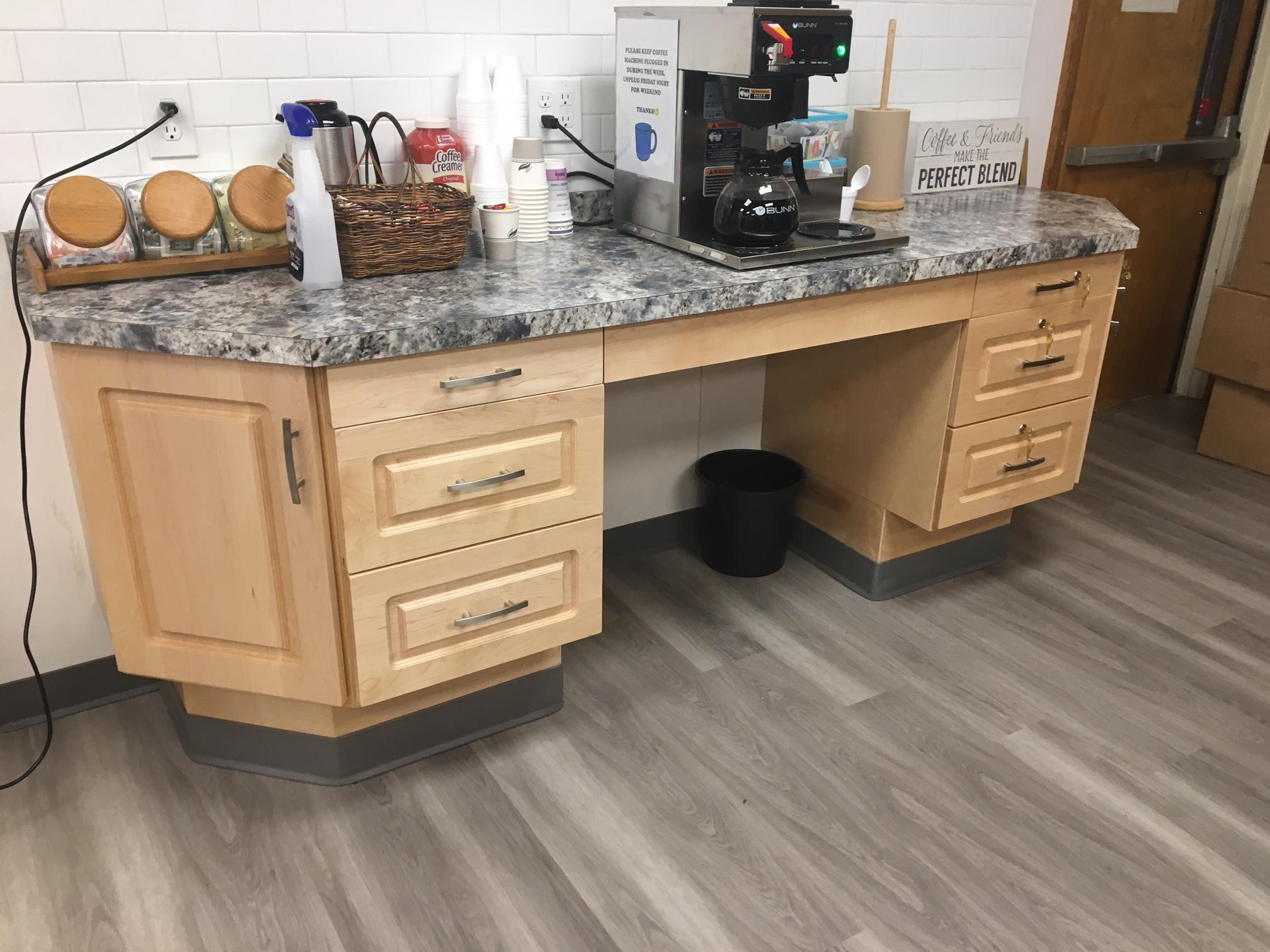 Wilmington Senior Center - Coffee Station