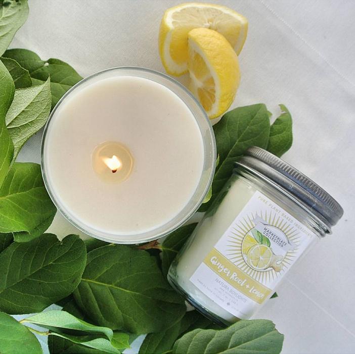 Uplifting blend of lemongrass, lemon, sage and spicy ginger.