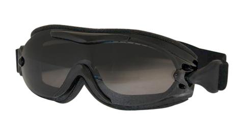 Goggles pour mettre par dessus  des lunettes de prescription Verres fumé Prix: 46.97$