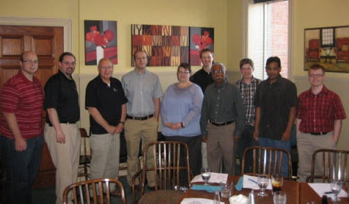 President Elect Dwight Scott announced and welcomed the new committee chairs and Executive for the coming year 2012-13