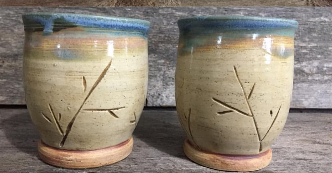 "Branch Wine Cup 3.75"" x 3.75"" $25"