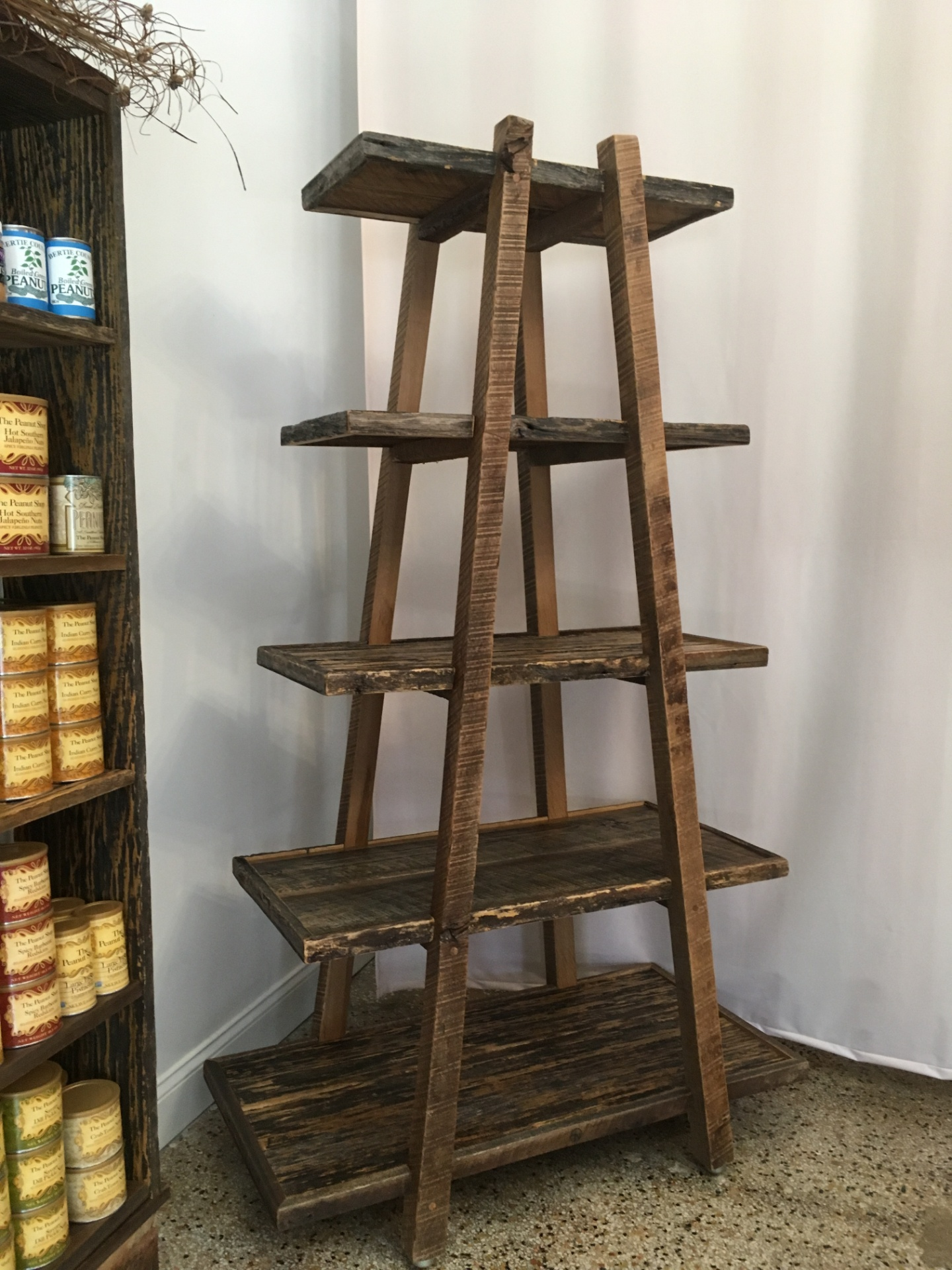 Reclaimed Barn Wood Etagere
