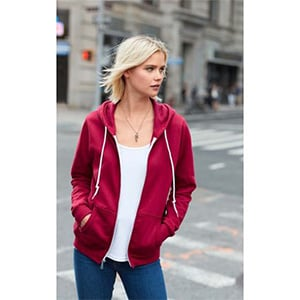 Anvil  Women's Full Zip Hooded Fleece