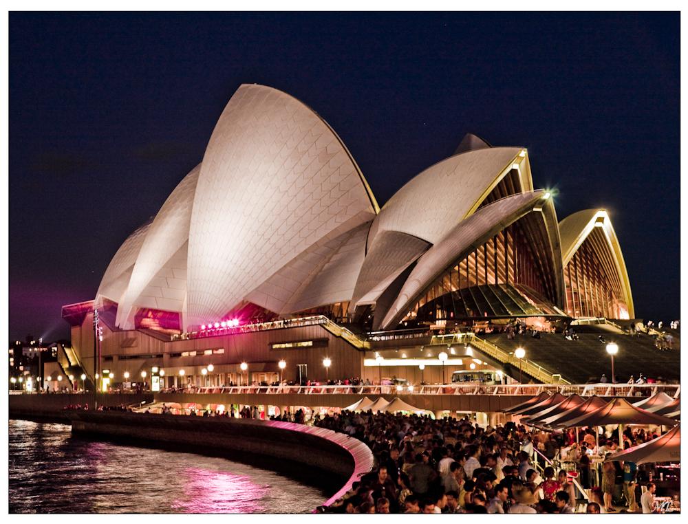 Opera House de Sydney, sur la liste des patrimoines mondiaux Février 2010