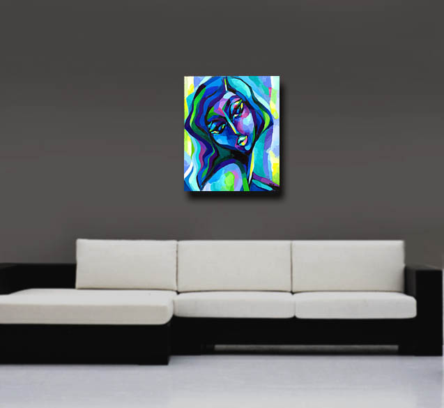 Painting in a room - approximate