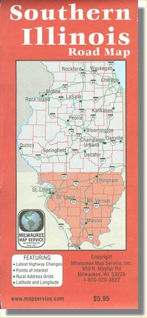Southern Illinois Road Map