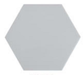 "Domus Grey 6.7"" x  5.9"""