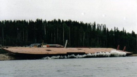 Williston Transporter Hull Launch