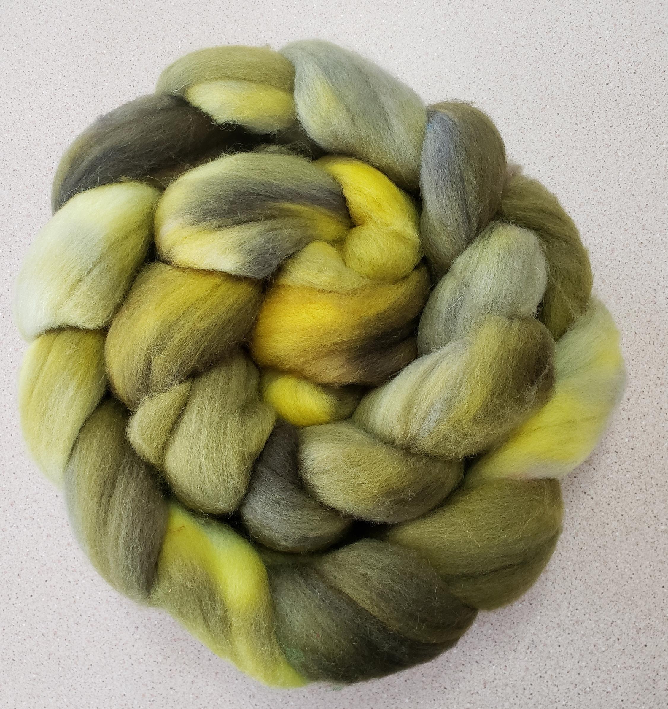 Birthe - West Coast Colours Falkland wool braid.