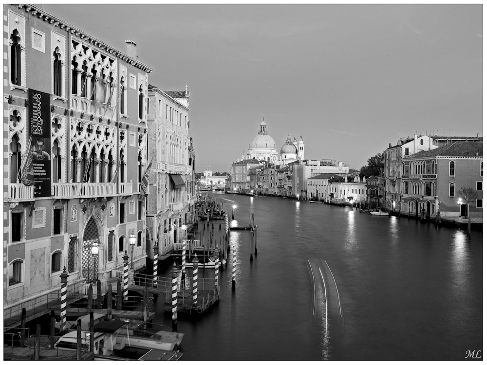Grand Canal de  Venise - Octobre  2010