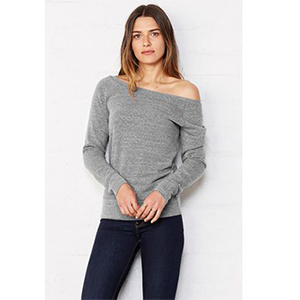 Bella + Canvas Triblend Slouchy Wideneck Sweatshirt