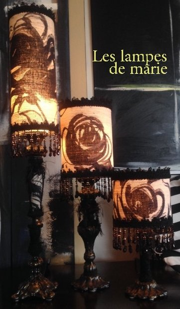 Marie Dubuc Lampiste / Exclusive lamp creations