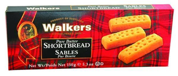 WK150H Walkers Pure Butter Shortbread fingers 150 gr.