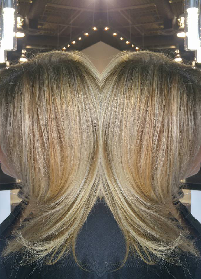 Sunny Blonde Highlights