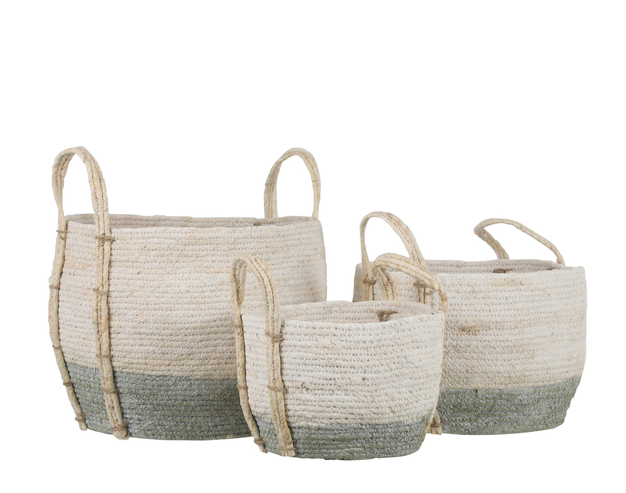 Andros Sage Round Basket Small $19.99 Medium $29.99 Large Sold out