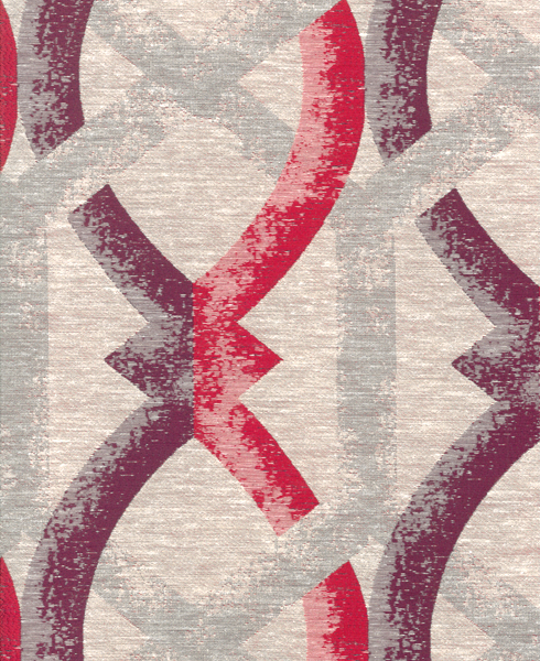 JACQUARD C66 Composition / Content: 89% Polyester - 11% Cot(t)on rep. vert. 11 ½'' rep hor. 7''