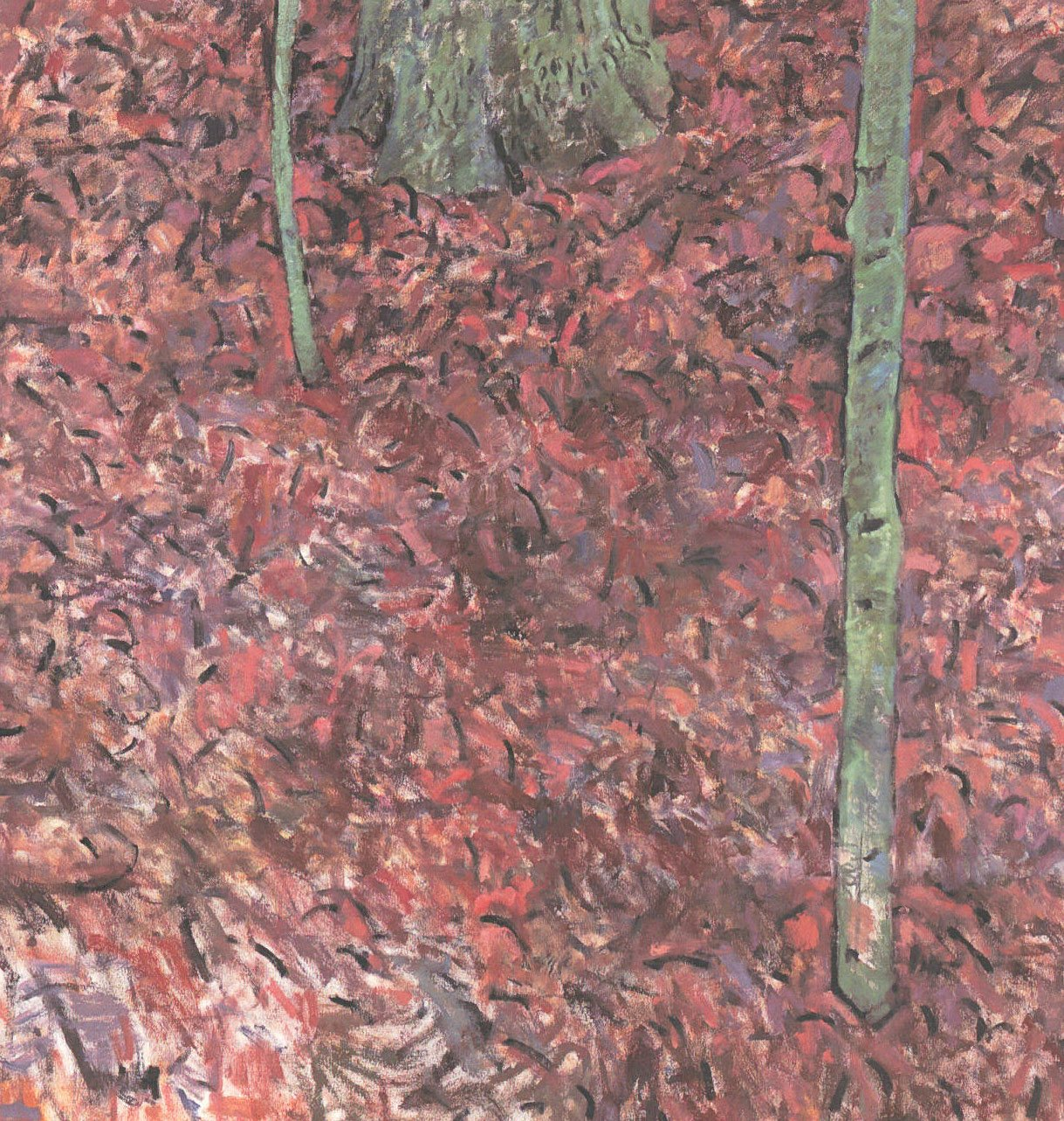 Forest, 2000, oil on canvas