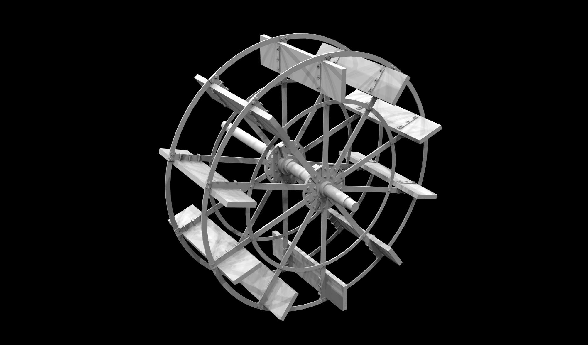 S.S. Beaver - Paddle Wheel