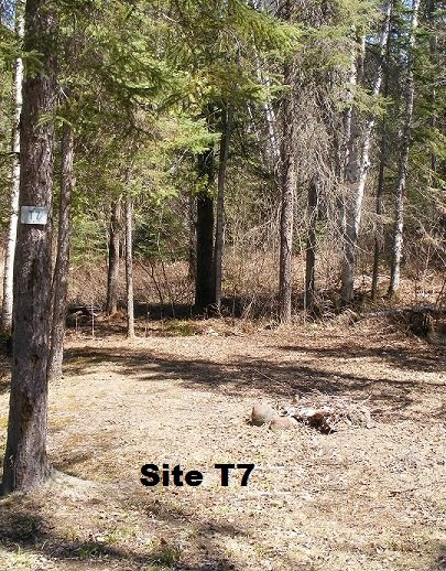 Site T7 - Tent Site - No Services
