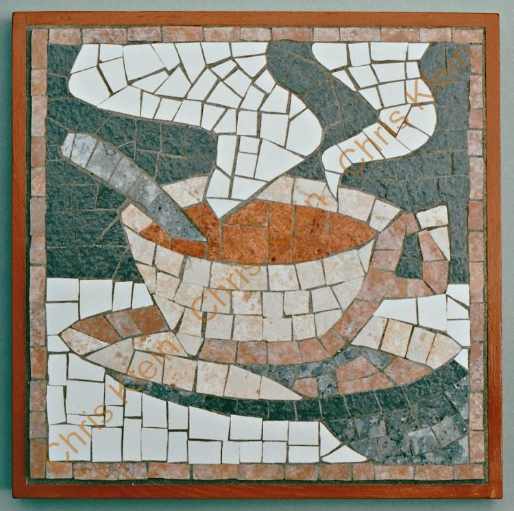 mosaic hot plate