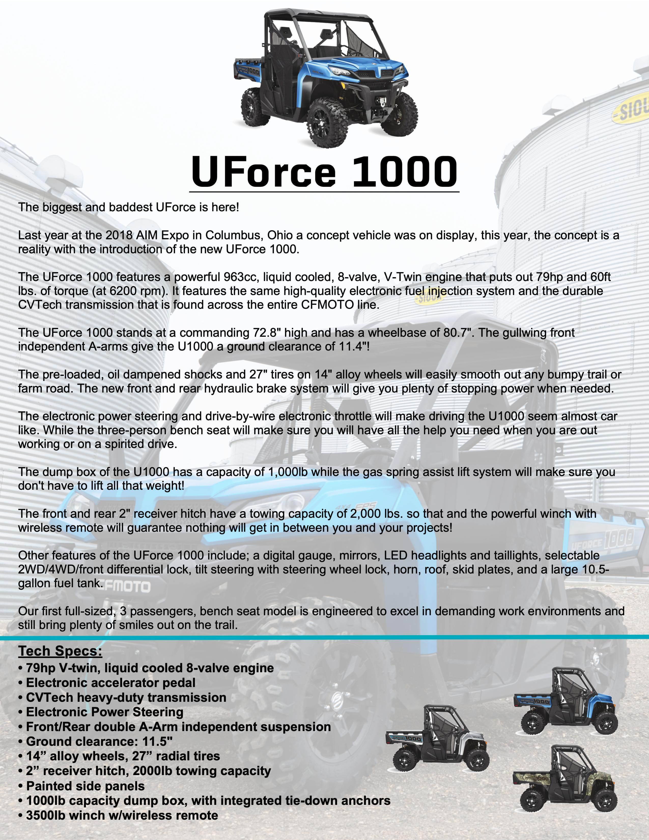 UFORCE 1000
