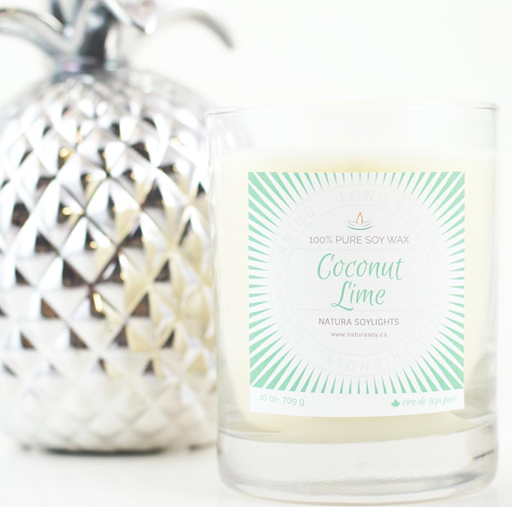 A divine mix of fresh lemongrass, key lime, coconut and lily.