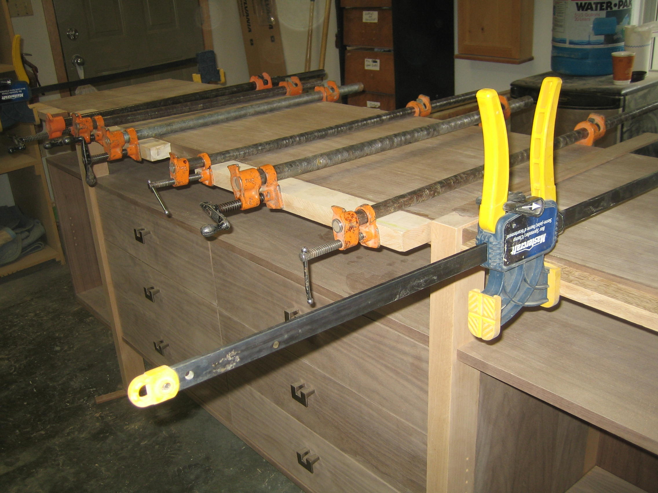 Clamping Hard-Wearing Edges