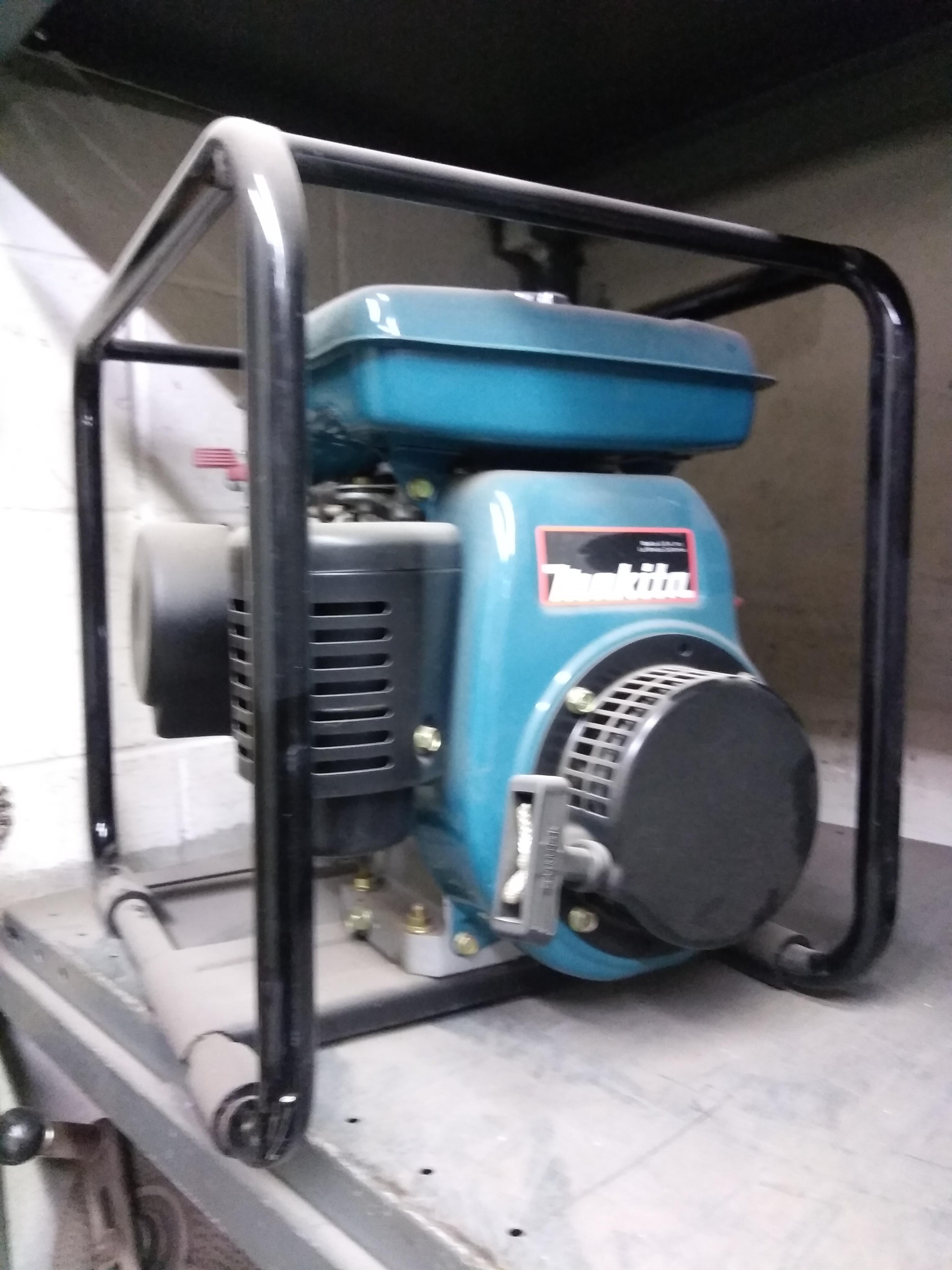 Makita Water Pump Model #: CW200B Cost: $605.00