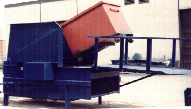 Stationary Compactor with Dumper System
