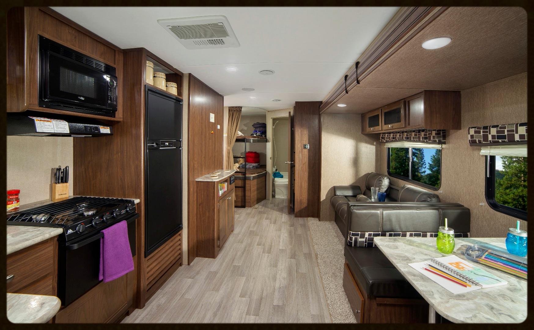 Coleman 285Bh interior