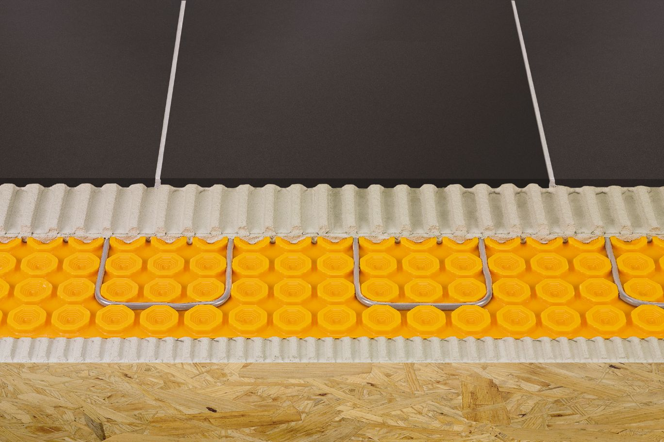 Ditra Heat membrane