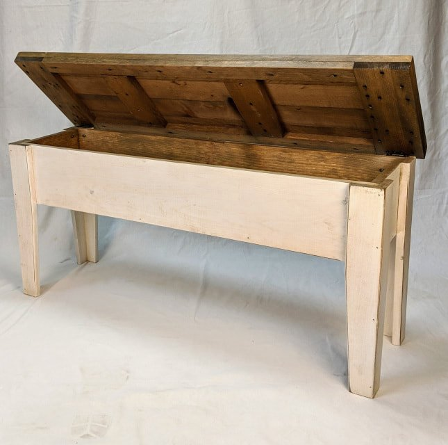 Vintage White with Classic Stain ClearCoat top