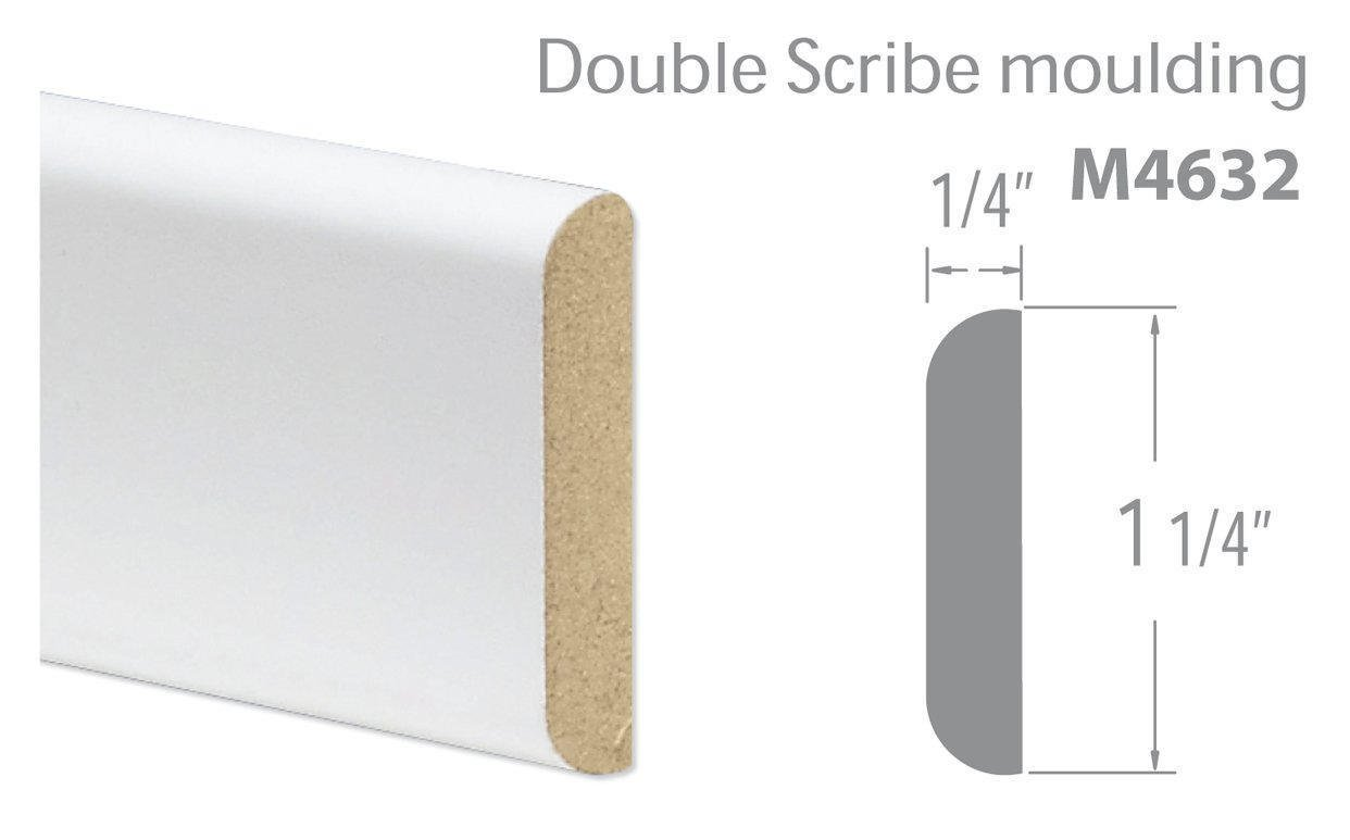 Double Scribe moulding