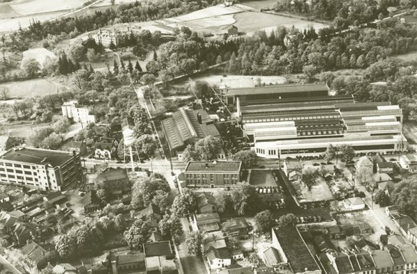 Early Aerial View of Bertrams