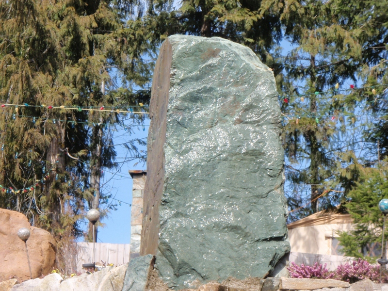 Large Green Stone