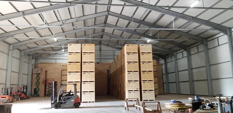 Projects 2018 - PEI - Potato Storage